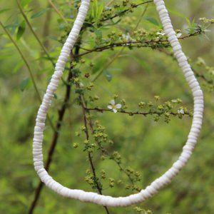 [5/$25]VSCO White Shell beach necklace boho hippie